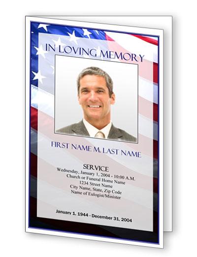 Military Funeral Program Template from elegantmemorials.com