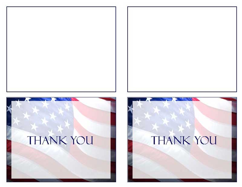 microsoft word thank you card template