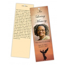 Beloved Angel Bookmark Template