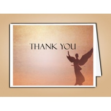 Beloved Angel Thank You Card Template