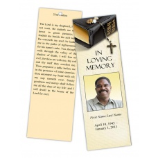 Bookmark Templates Elegant Memorials