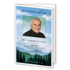 funeral program templates elegant memorials