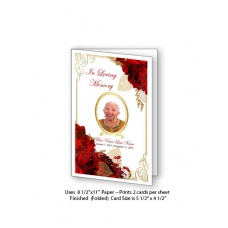 floral_bouquet_frame_funeral_card