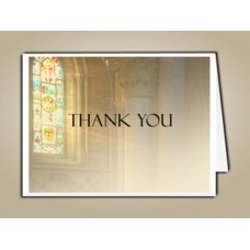 Shine Brightly Thank You Card Template