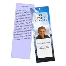 Wade in Water Bookmark Template