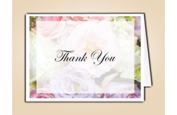 Pastel Memories Thank You Card Template