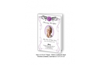 vintage_rose_purple_funeral_card_2138593669