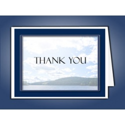 Mountain Memory Thank You Card Template