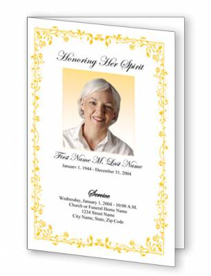 Recent blog posts elegant memorials blog for Free celebration of life program template