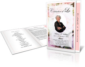 Funeral program design gallery funeral program template for Free celebration of life program template
