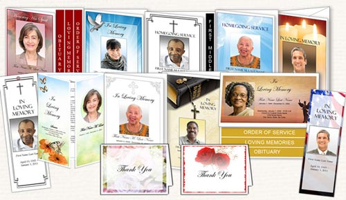 Sample Funeral Program Memorial Booklet Samples – Sample Funeral Programs