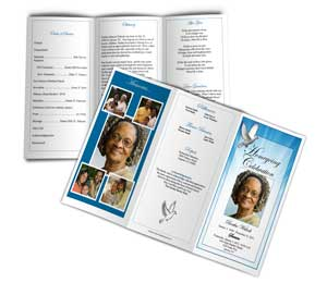 funeral programs samples example of funeral memorial programs