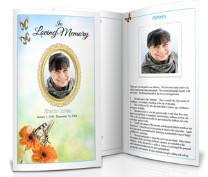 funeral programs clipart