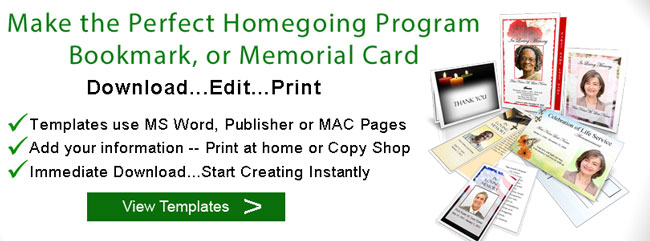homegoing program banner