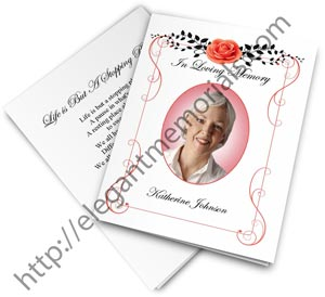 remembrance cards templates for memorials